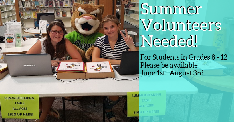 Summer Reading Volunteers