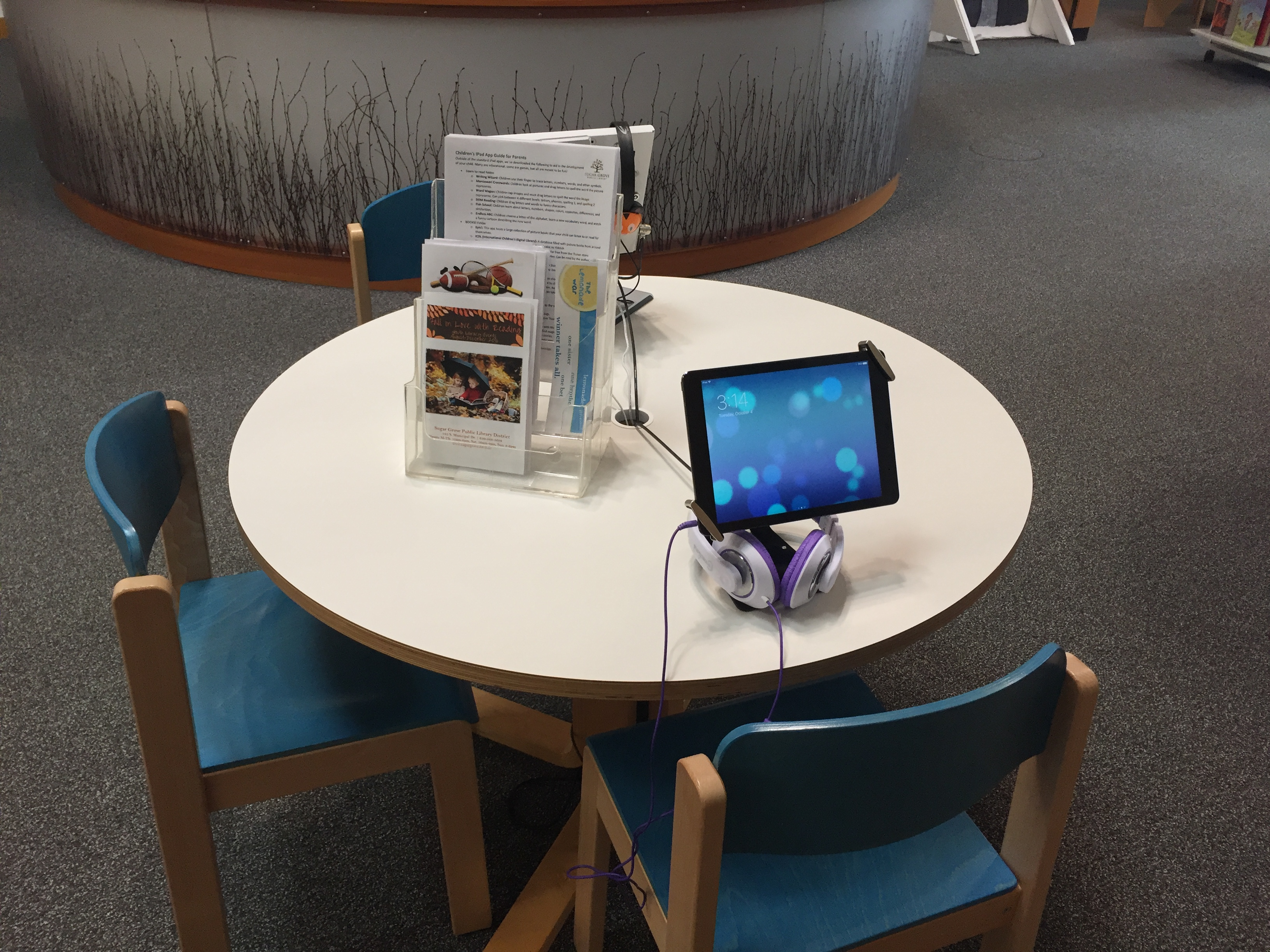 iPad Learning Station